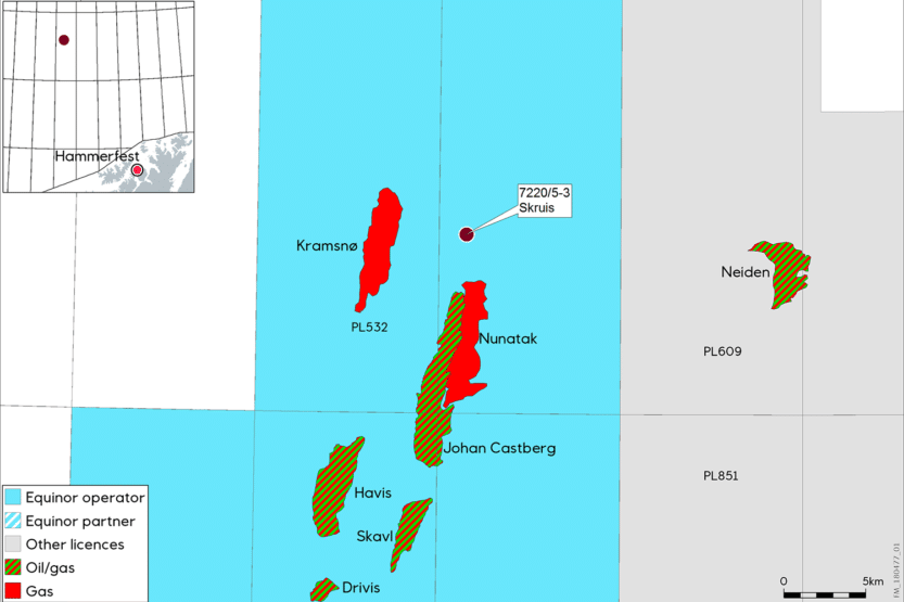 Small discovery in the Barents Sea