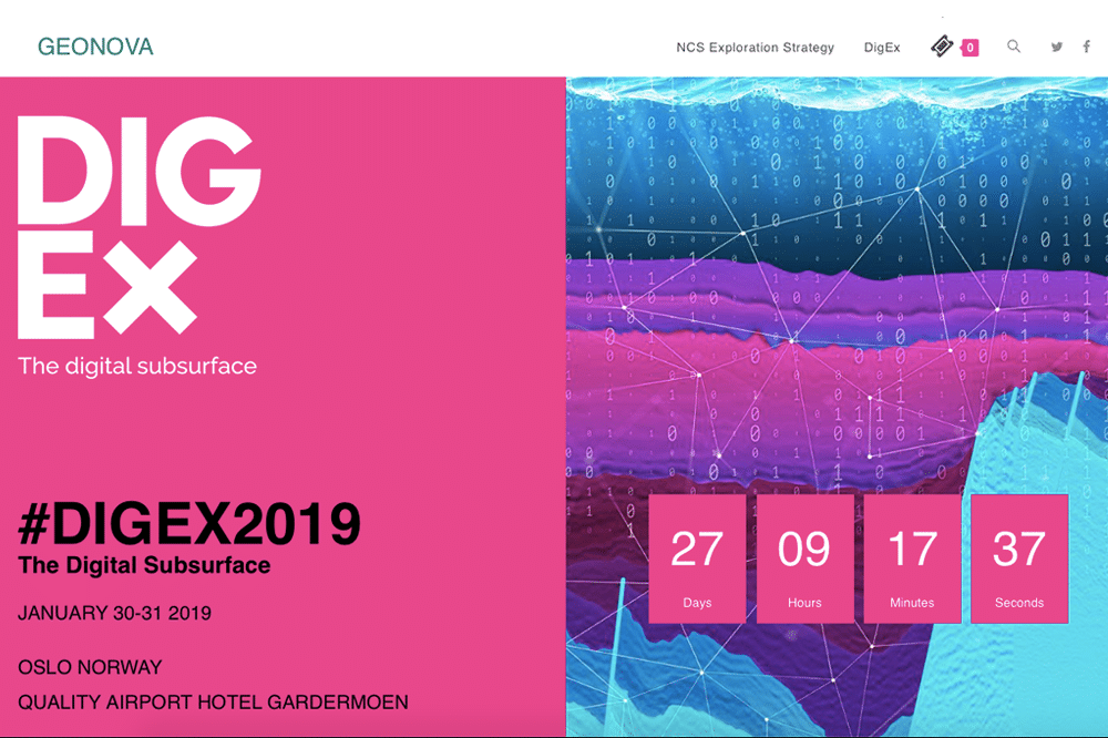 #DigEx only four weeks away