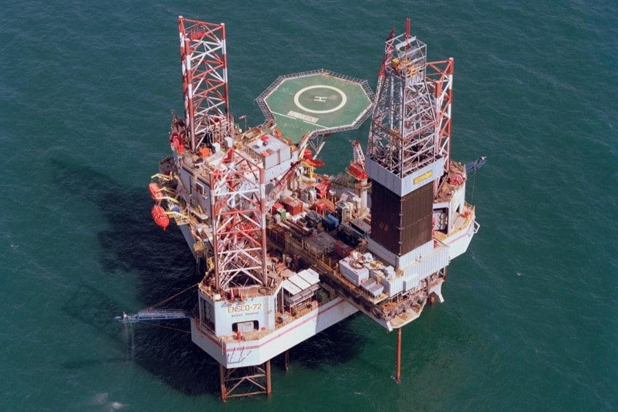 Dry well in Moray Firth
