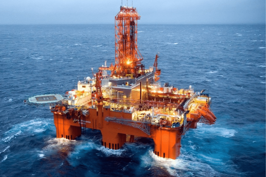 Small gas discovery in the Norwegian Sea