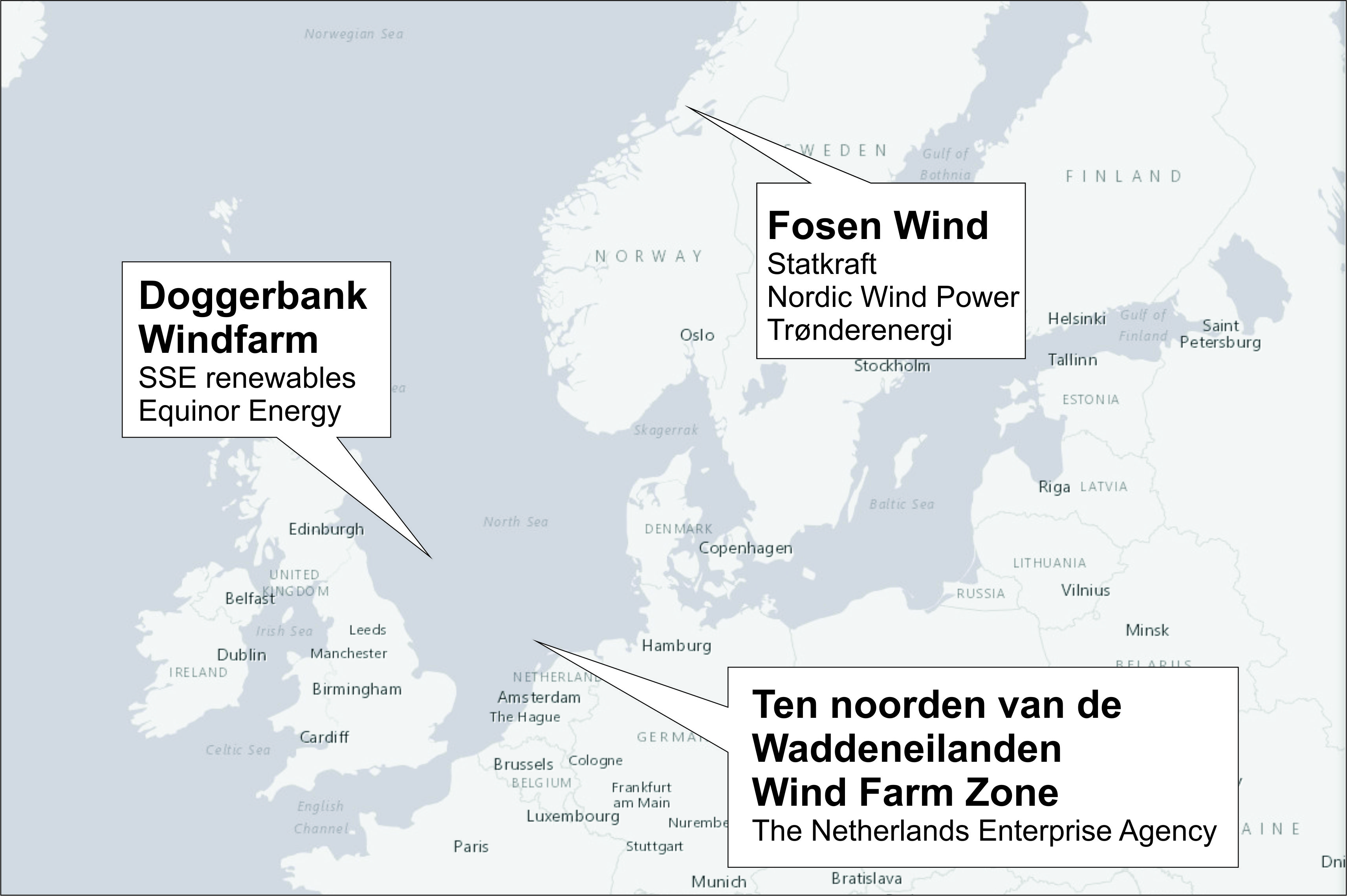 Building of the world's largest offshore wind farm started