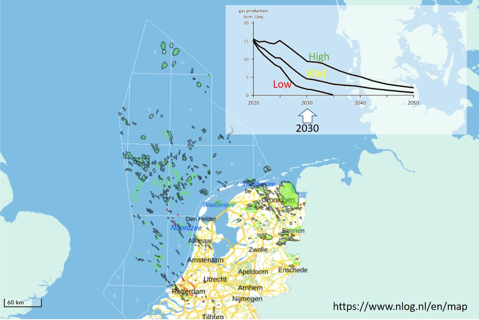 Dire forecast for Dutch gas production