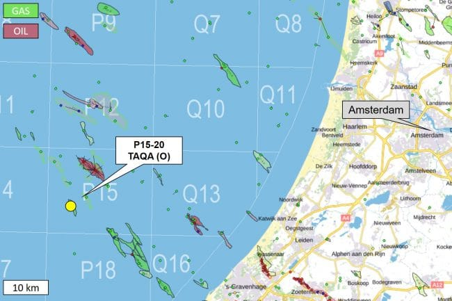 Dutch exploration well proved non-commercial gas