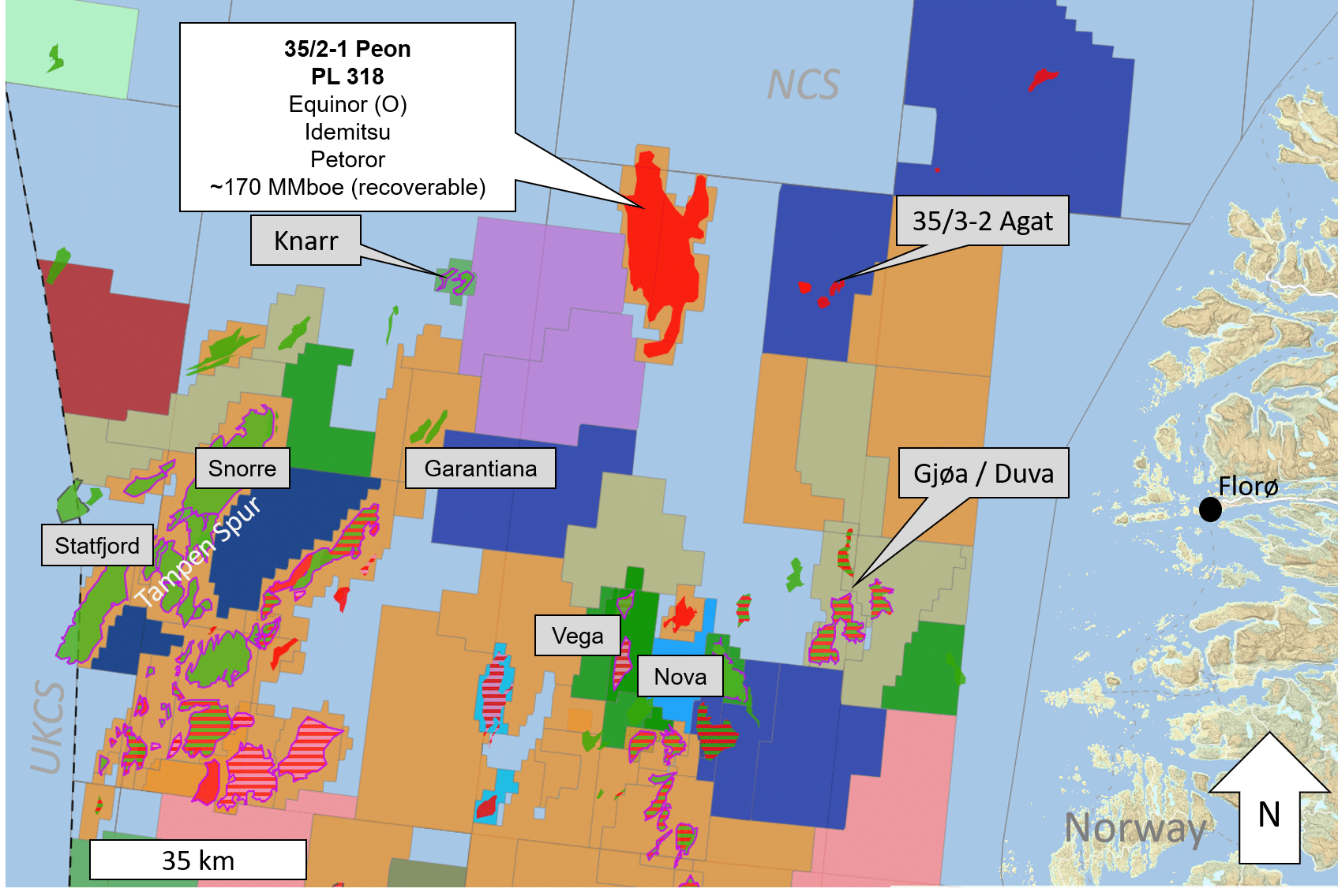 NCS: Shallow Peon gas discovery to be evaluated for development