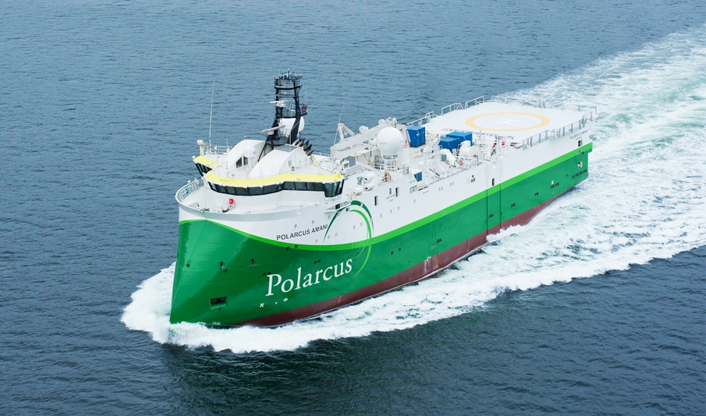 Positive signs for Polarcus