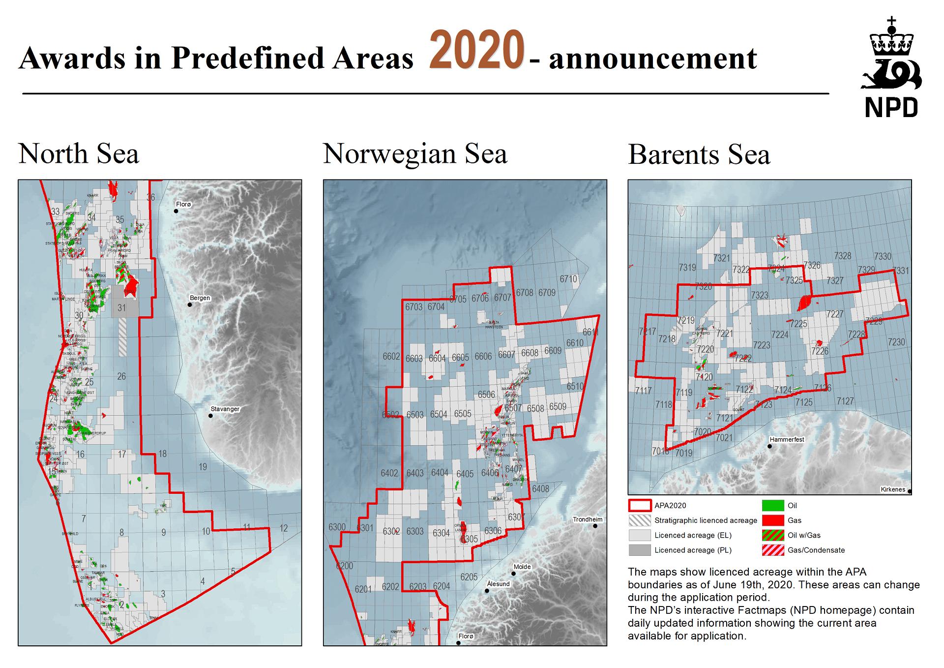 New acreage in the Norwegian Sea