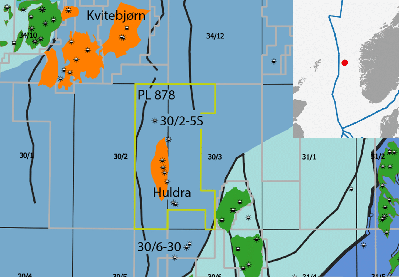 Brent gas discovery for Equinor
