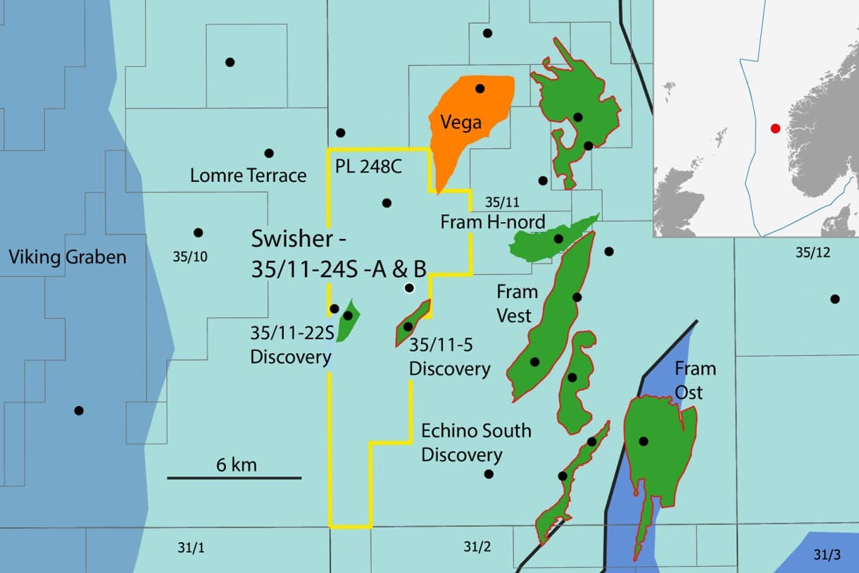 Equinor announces oil and gas discovery near Fram field, North Sea