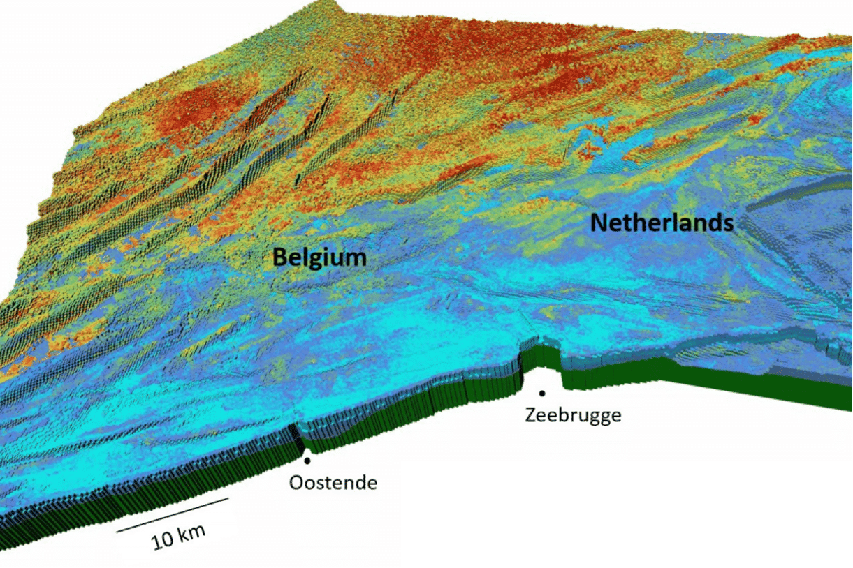 "A ""reservoir"" model for the entire continental shelf, it's been done in Belgium"