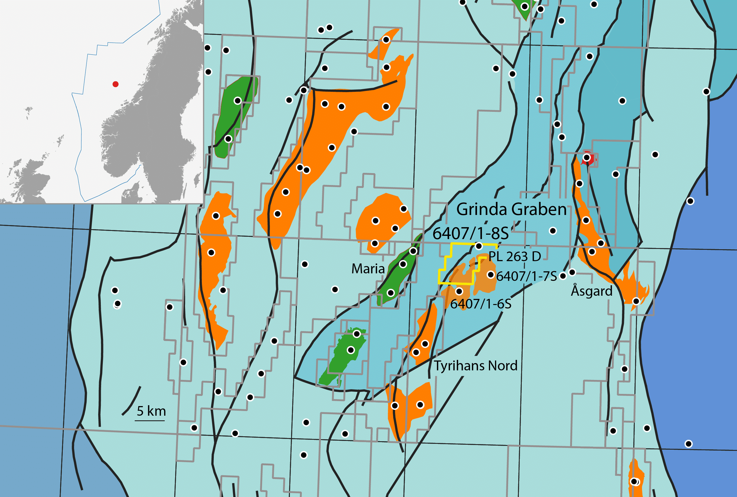 Equinor proves potential of Upper Cretaceous play east of Maria field