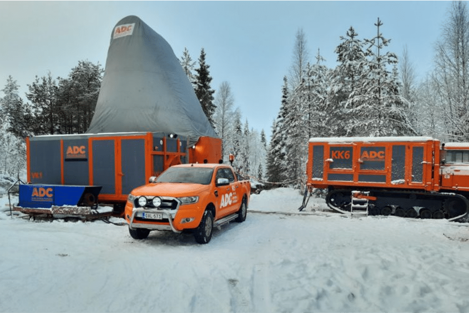 Drilling into basement? – follow this Finnish project