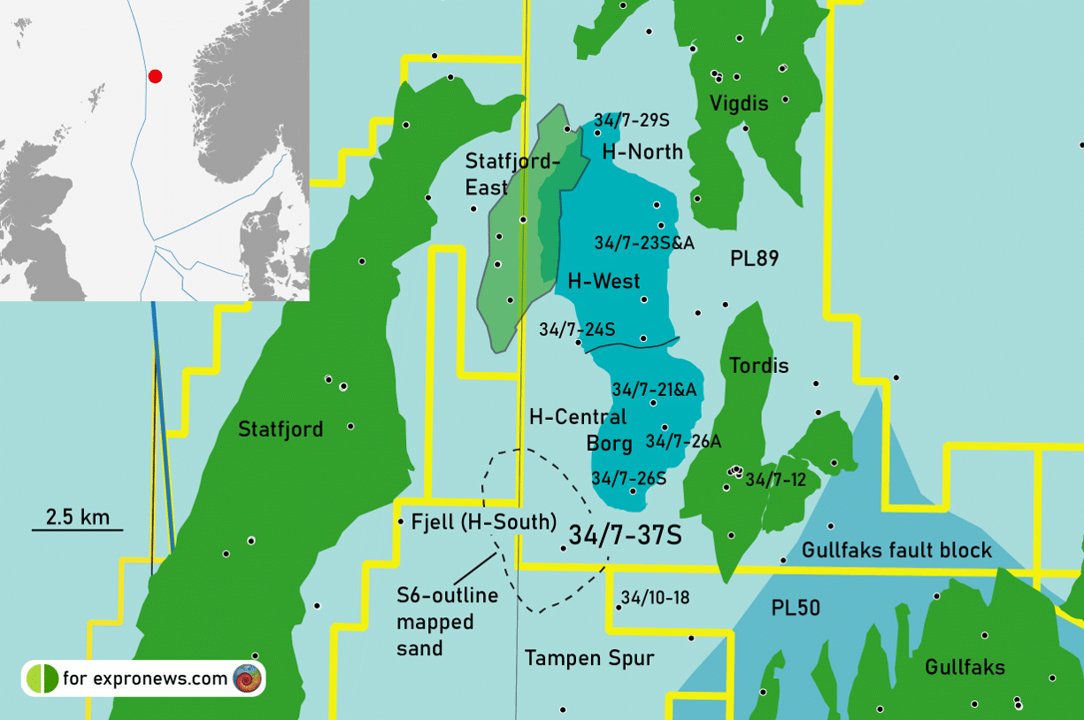 Equinor fails to find Draupne sandstones at Fjell