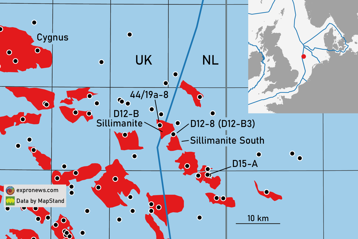 First gas from Wintershall's Sillimanite South development