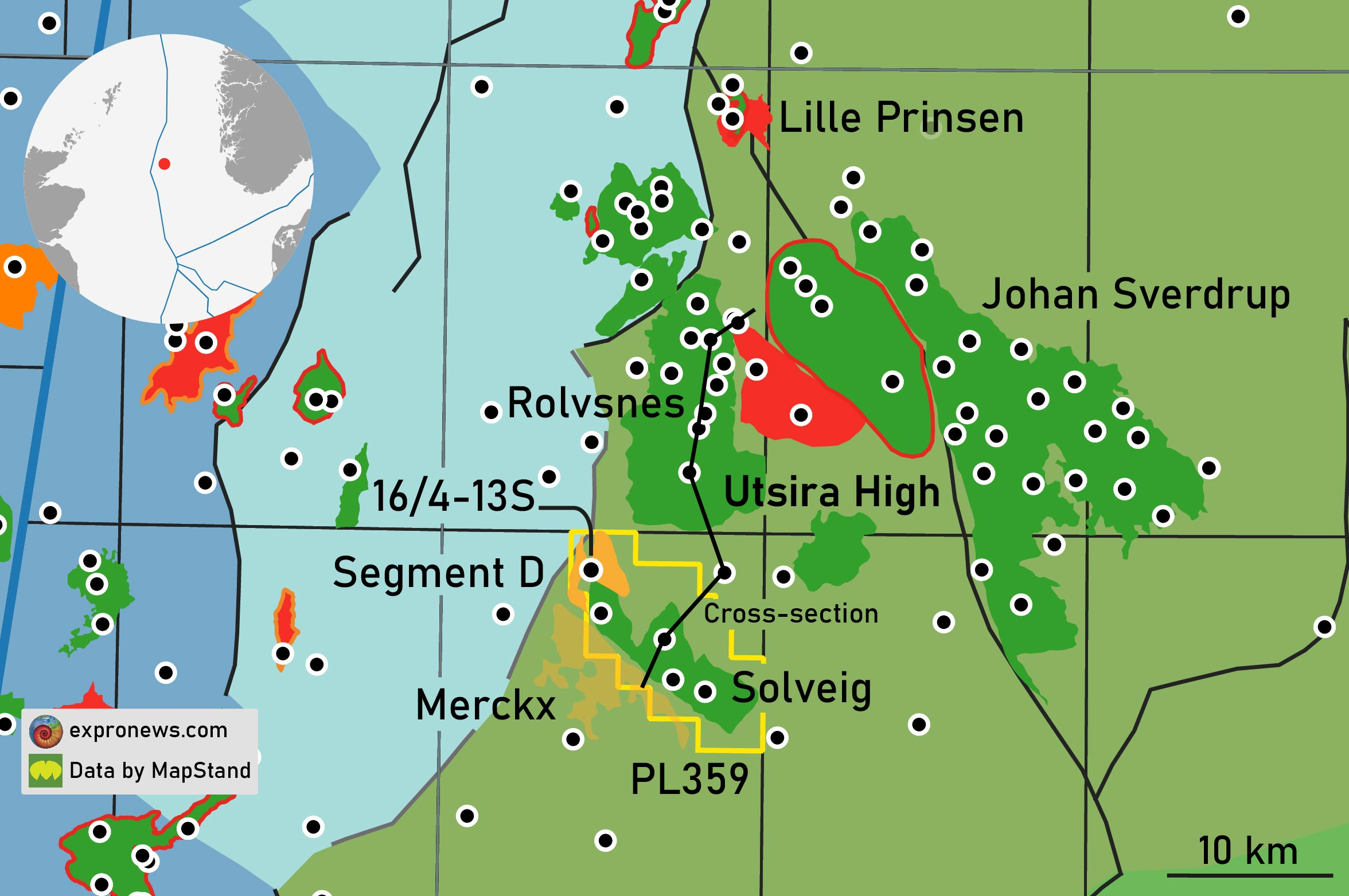 Lundin targets additional reserves near Solveig through drilling Segment D