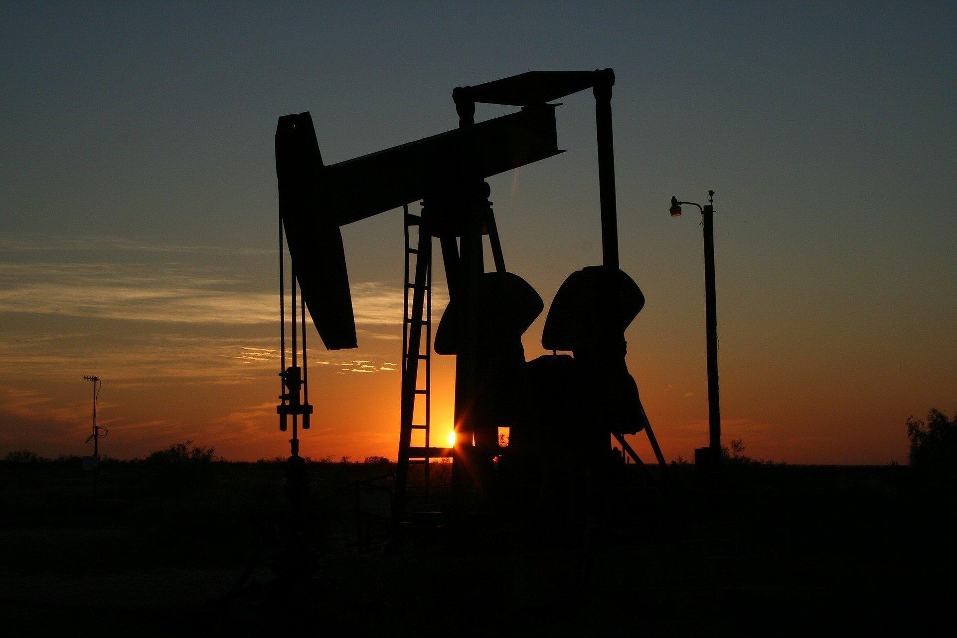 Oil under pressure