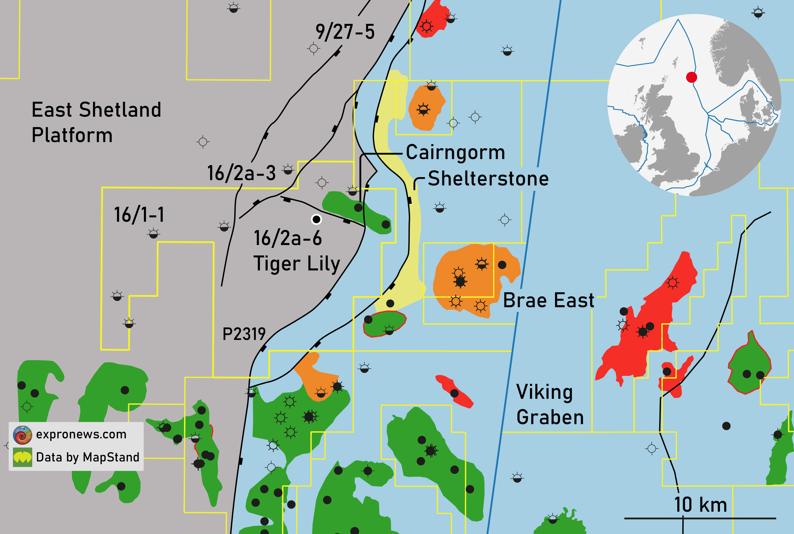 Equinor spuds first UKCS exploration well of the year