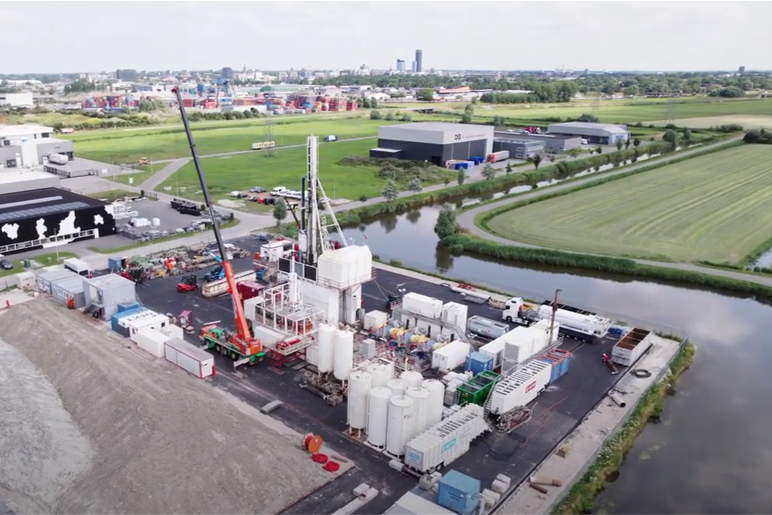 Shell drills for geothermal energy in the Netherlands