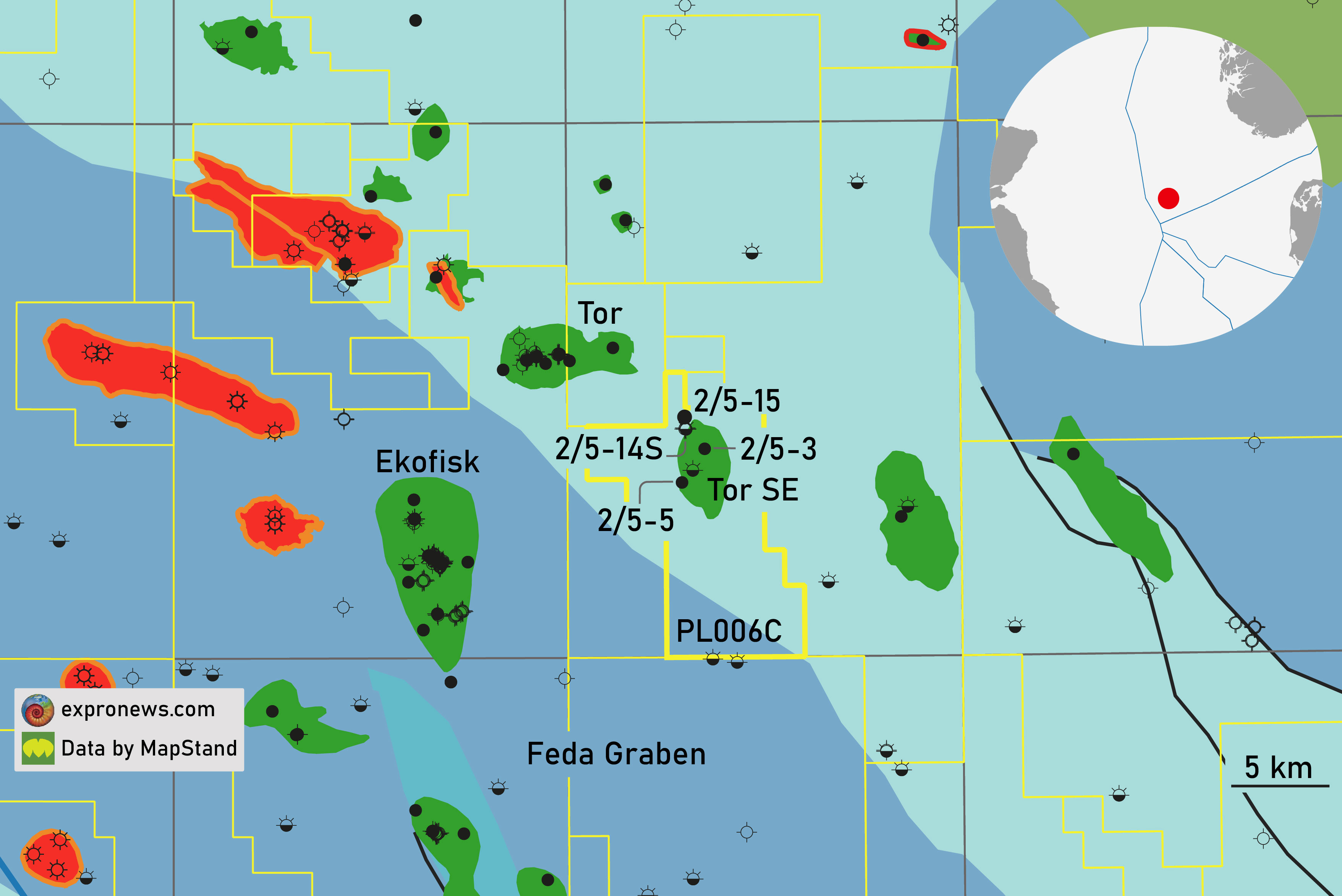 Mixed results for DNO in Southern North Sea drilling campaign