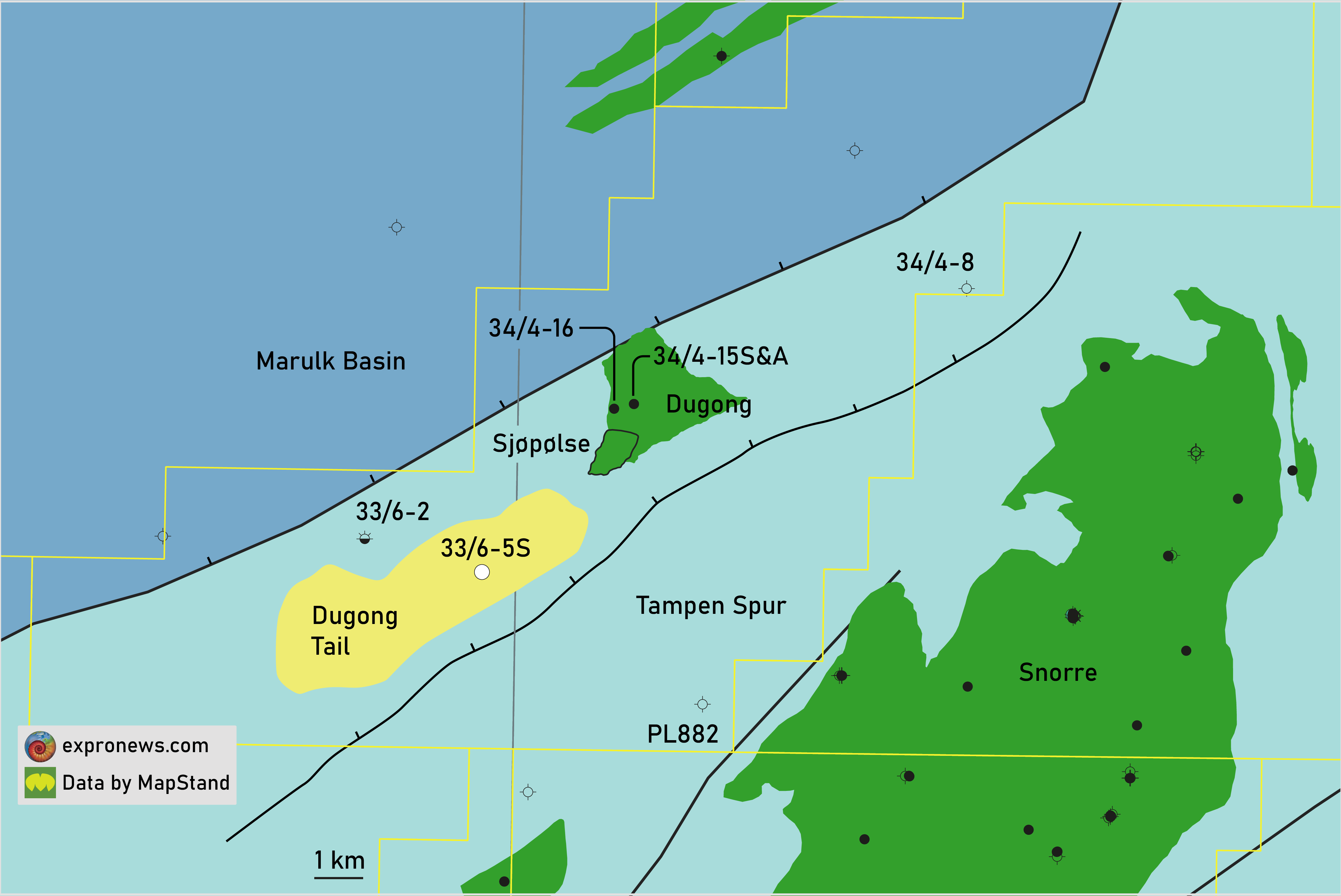 Neptune kicks off drilling Dugong Tail