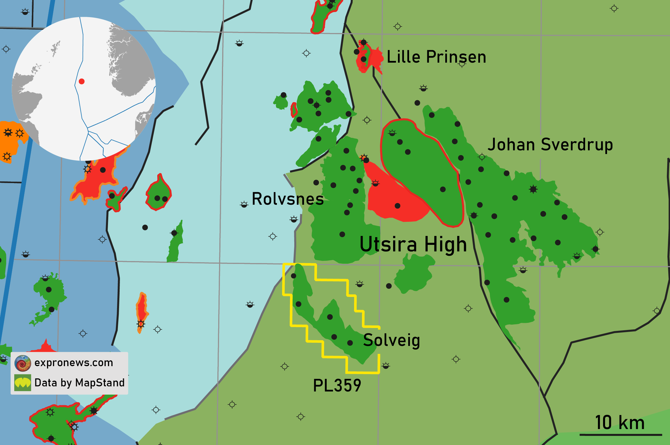 Another Utsira High discovery seeing first oil soon